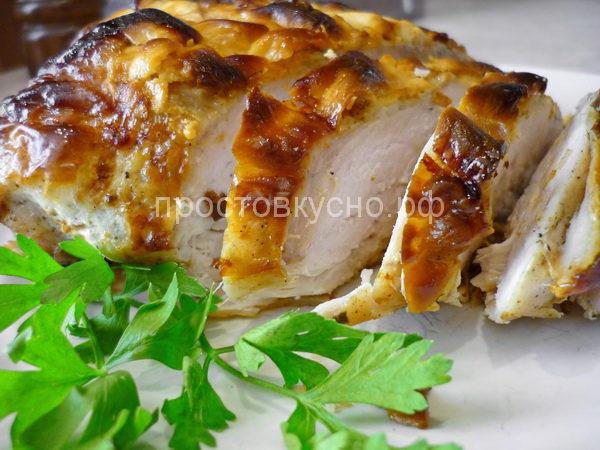 Ароматная куриная грудка