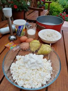 Творожно-рисовая запеканка